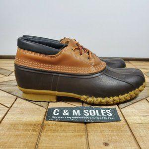 WP LL Bean Boots Gumshoes Brown/Tan Shoes